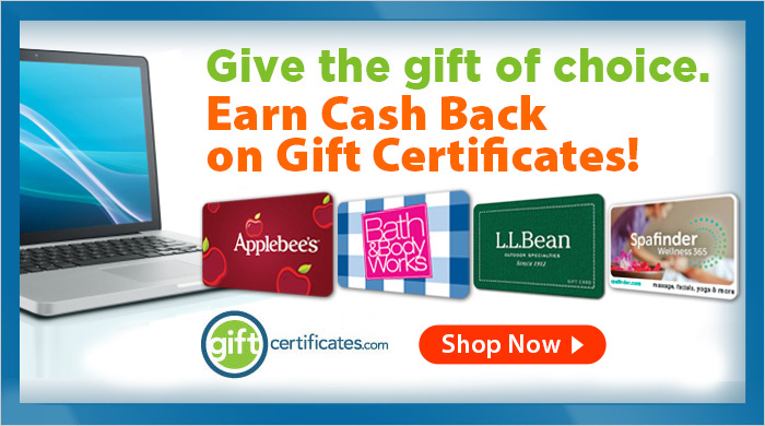 giftcertificates.com deals