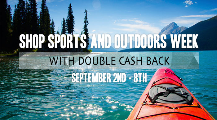 Explore the Outdoors with Double Cash Back