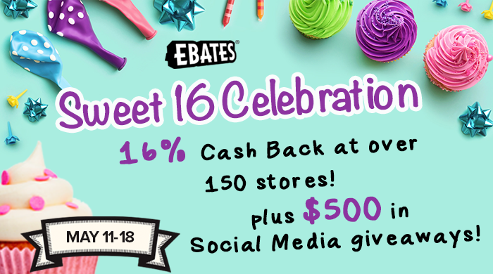 Ebates Sweet 16 Celebration