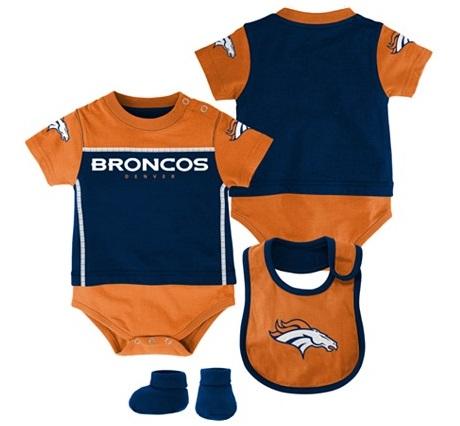 Denver Broncos Baby Onesie