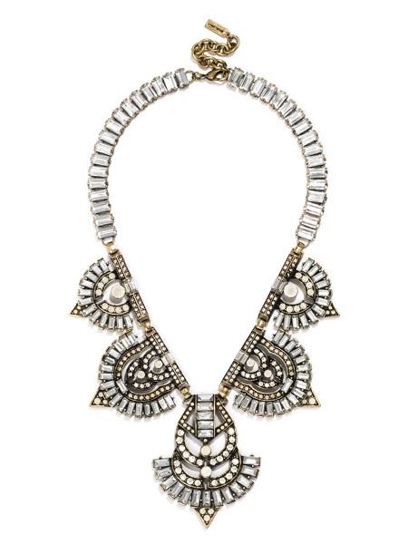Garbo bib necklace
