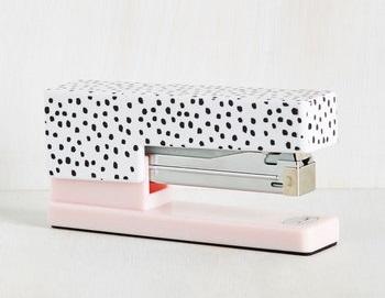 Polka dot stapler