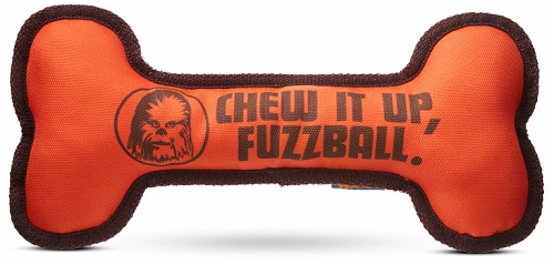 """Star Wars"" ""Chew It Up, Fuzzball"" Bone Dog Toy"