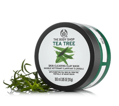 The Body Shop Tea Tree Oil Skin Clearing Clay Mask