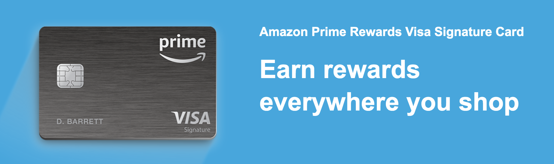 Amazon Visa Rewards Signature Card