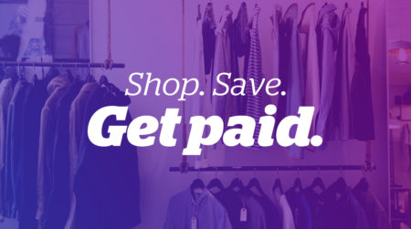 Shop. Save. Get paid.